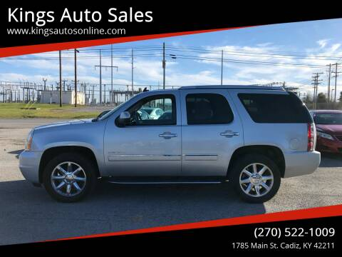 2013 GMC Yukon for sale at Kings Auto Sales in Cadiz KY