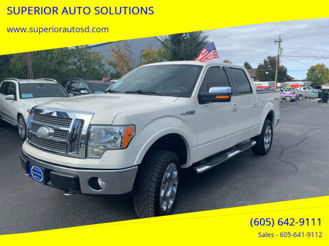 2009 Ford F-150 for sale at SUPERIOR AUTO SOLUTIONS in Spearfish SD