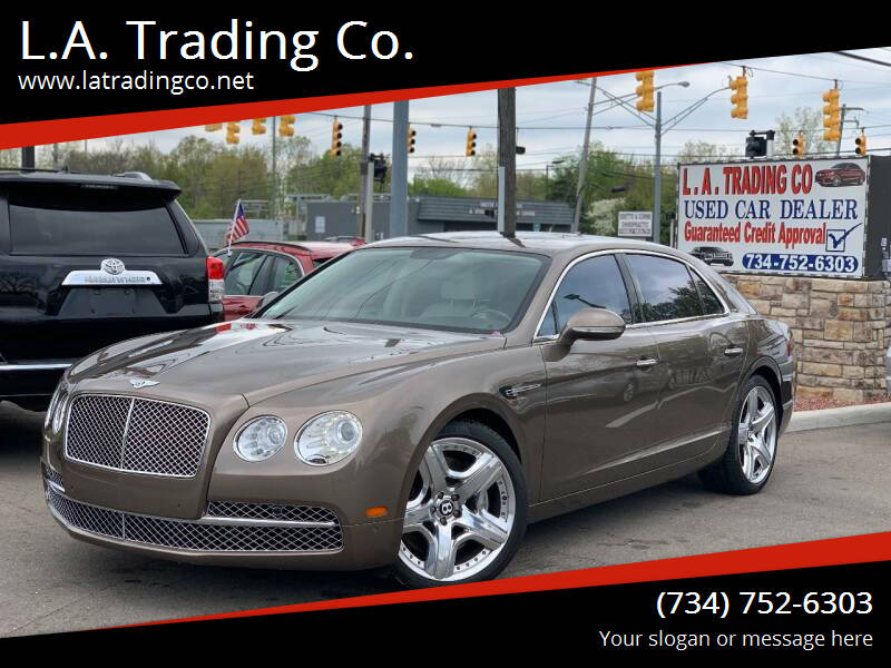 2014 Bentley Flying Spur for sale at L.A. Trading Co. in Woodhaven MI