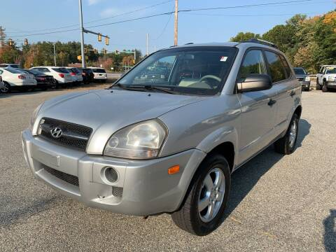 2008 Hyundai Tucson for sale at Official Auto Sales in Plaistow NH