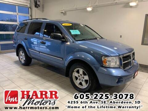 2008 Dodge Durango for sale at Harr Motors Bargain Center in Aberdeen SD