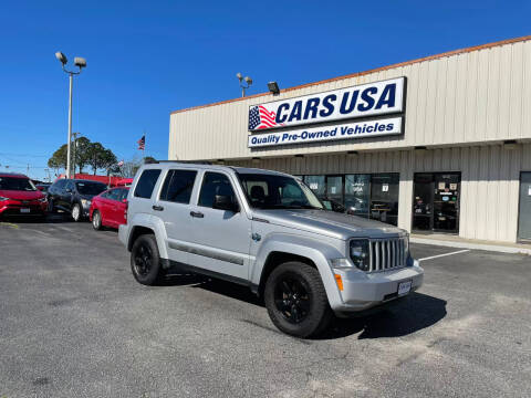 2012 Jeep Liberty for sale at Cars USA in Virginia Beach VA
