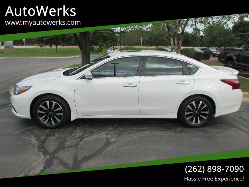 2018 Nissan Altima for sale at AutoWerks in Sturtevant WI