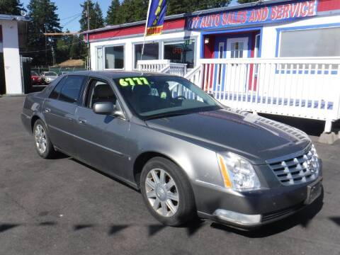2006 Cadillac DTS for sale at 777 Auto Sales and Service in Tacoma WA