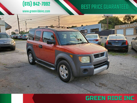2003 Honda Element for sale at Green Ride Inc in Nashville TN