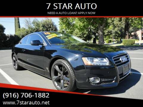 2010 Audi A5 for sale at 7 STAR AUTO in Sacramento CA