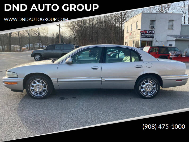 2004 Buick Park Avenue for sale at DND AUTO GROUP in Belvidere NJ