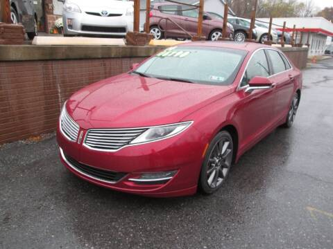 2014 Lincoln MKZ for sale at WORKMAN AUTO INC in Pleasant Gap PA
