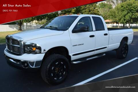 2005 Dodge Ram Pickup 2500 for sale at All Star Auto Sales in Pleasant Grove UT