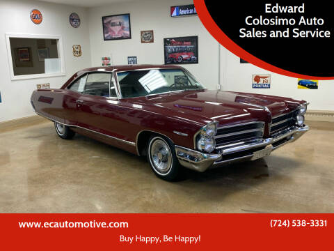 1965 Pontiac Catalina for sale at Edward Colosimo Auto Sales and Service in Evans City PA