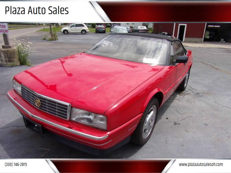 1990 Cadillac Allante for sale at Plaza Auto Sales in Poland OH