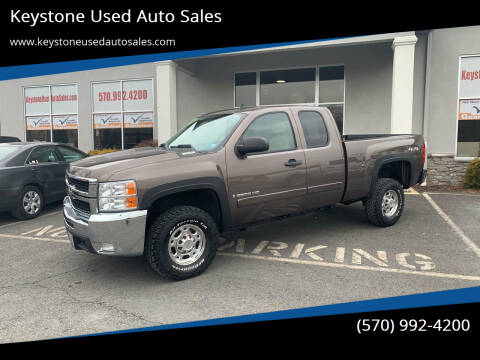 2008 Chevrolet Silverado 2500HD for sale at Keystone Used Auto Sales in Brodheadsville PA