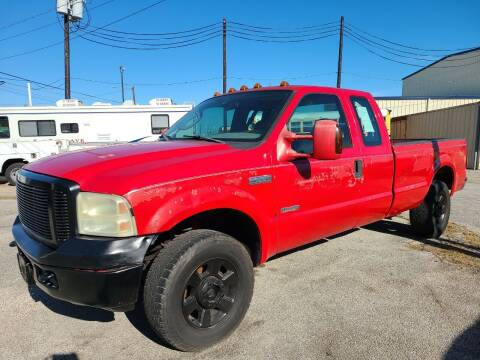 2005 Ford F-250 Super Duty for sale at OTWELL ENTERPRISES AUTO & TRUCK SALES in Pasadena TX