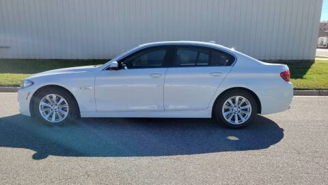 2014 BMW 5 Series for sale at TNK Autos in Inman KS