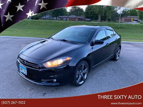 2014 Dodge Dart for sale at Three Sixty Auto in Elysian MN