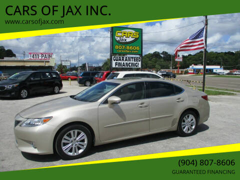 2015 Lexus ES 350 for sale at CARS OF JAX INC. in Jacksonville FL