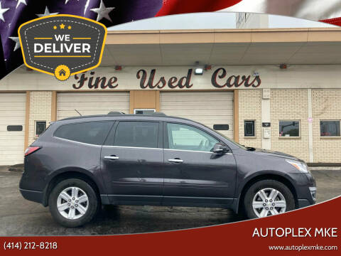 2013 Chevrolet Traverse for sale at Autoplexwest in Milwaukee WI