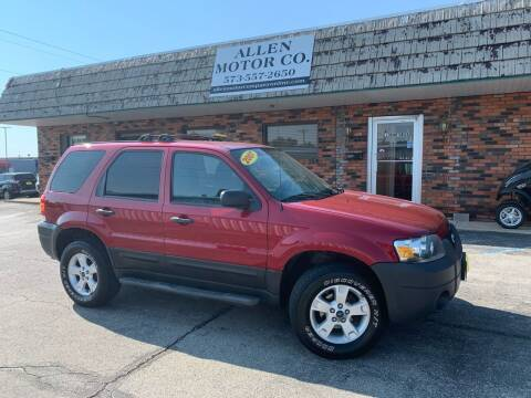 2007 Ford Escape for sale at Allen Motor Company in Eldon MO
