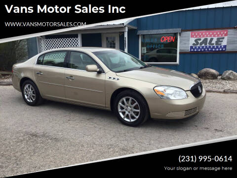 2006 Buick Lucerne for sale at Vans Motor Sales Inc in Traverse City MI