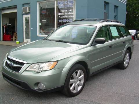 2009 Subaru Outback for sale at Kars on King Auto Center in Lancaster PA