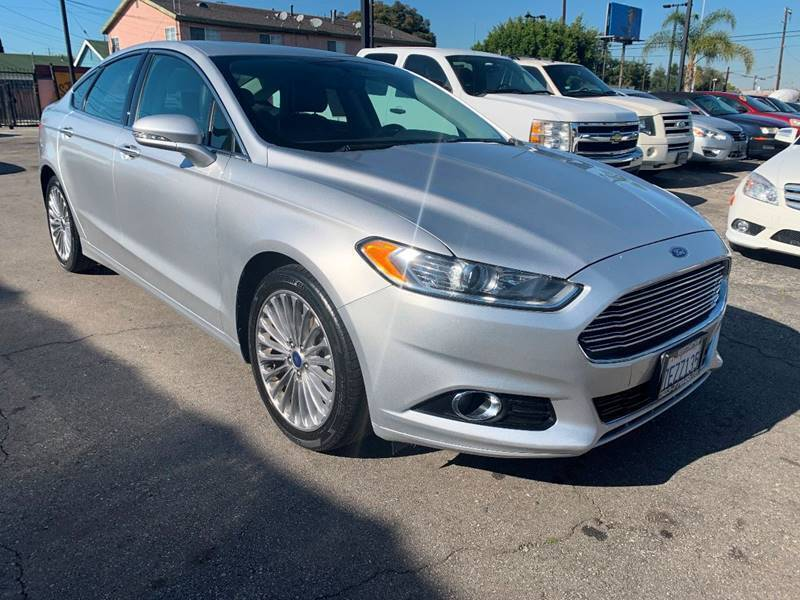 2014 Ford Fusion for sale at Westcoast Auto Wholesale in Los Angeles CA