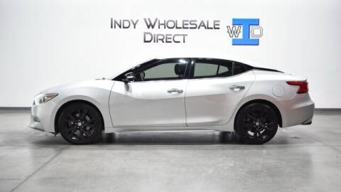 2017 Nissan Maxima for sale at Indy Wholesale Direct in Carmel IN
