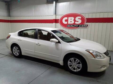 2012 Nissan Altima for sale at CBS Quality Cars in Durham NC
