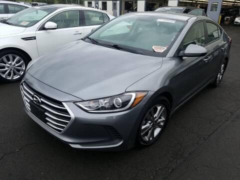 2017 Hyundai Elantra for sale at SILVER ARROW AUTO SALES CORPORATION in Newark NJ