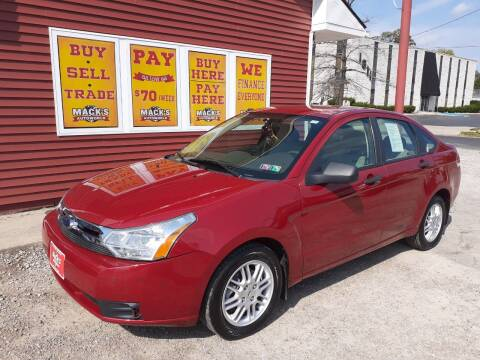 2010 Ford Focus for sale at Mack's Autoworld in Toledo OH
