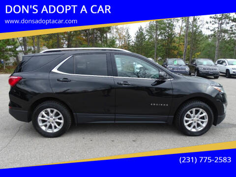 2019 Chevrolet Equinox for sale at DON'S ADOPT A CAR in Cadillac MI