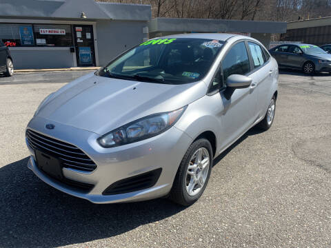 2018 Ford Fiesta for sale at B & P Motors LTD in Glenshaw PA