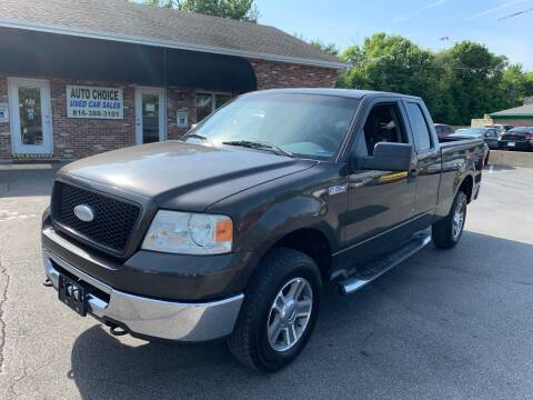 2006 Ford F-150 for sale at Auto Choice in Belton MO