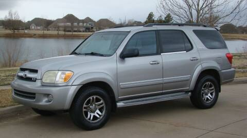2005 Toyota Sequoia for sale at Red Rock Auto LLC in Oklahoma City OK