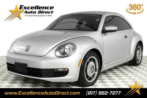 2015 Volkswagen Beetle for sale at Excellence Auto Direct in Euless TX