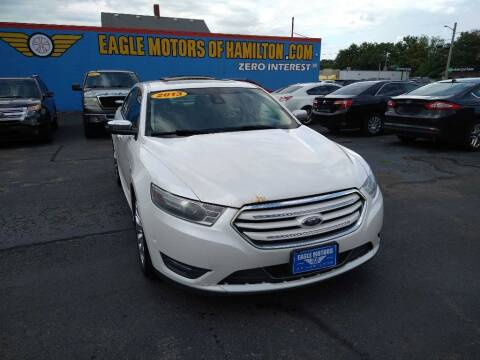 2013 Ford Taurus for sale at Eagle Motors in Hamilton OH