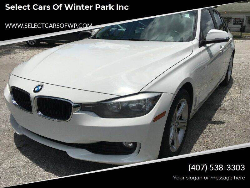 2015 BMW 3 Series for sale at Select Cars Of Winter Park Inc in Orlando FL