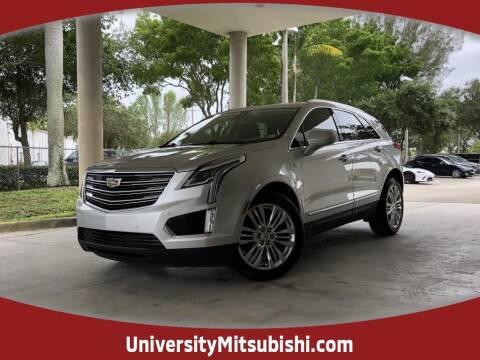 2018 Cadillac XT5 for sale at University Mitsubishi in Davie FL