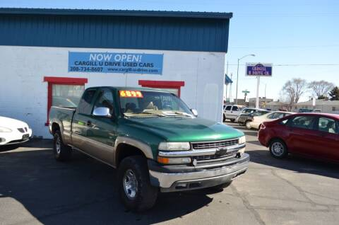 1999 Chevrolet Silverado 2500 for sale at CARGILL U DRIVE USED CARS in Twin Falls ID