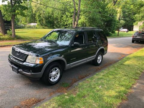 2002 Ford Explorer for sale at Billycars in Wilmington MA