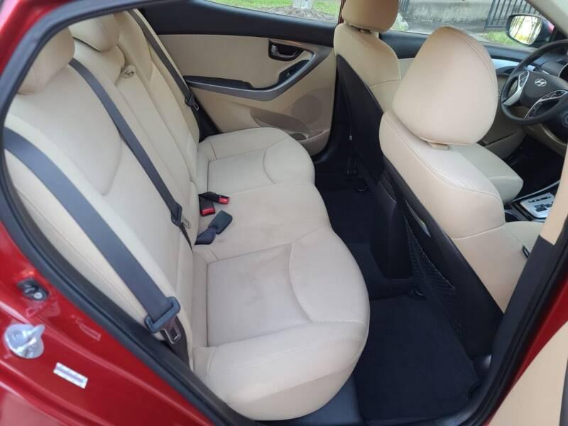 2012 Hyundai Elantra Limited 4dr Sedan - Houston TX
