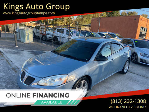 2009 Pontiac G6 for sale at Kings Auto Group in Tampa FL