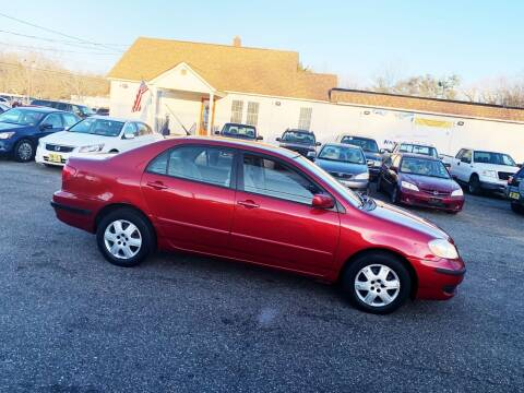 2007 Toyota Corolla for sale at New Wave Auto of Vineland in Vineland NJ