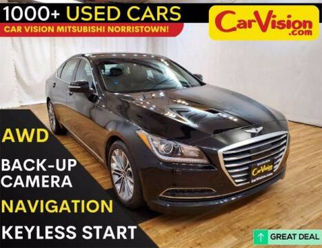 2017 Genesis G80 for sale at Car Vision Buying Center in Norristown PA