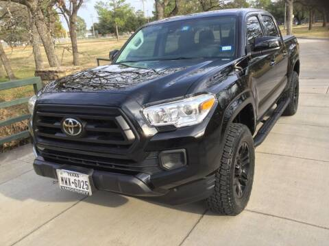 2020 Toyota Tacoma for sale at TEXAS MOTOR WORKS in Arlington TX
