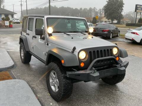 2008 Jeep Wrangler Unlimited for sale at RVA Automotive Group in North Chesterfield VA