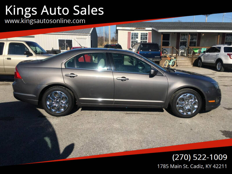2010 Ford Fusion for sale at Kings Auto Sales in Cadiz KY