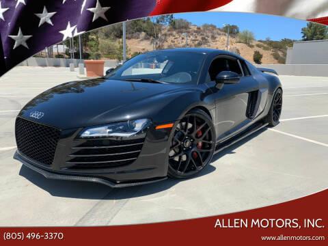 2008 Audi R8 for sale at Allen Motors, Inc. in Thousand Oaks CA