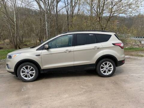 2018 Ford Escape for sale at WESTON FORD  INC in Weston WV