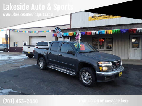 2009 GMC Canyon for sale at Lakeside Auto & Sports in Garrison ND