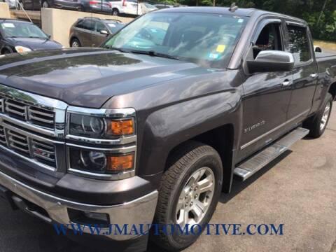2014 Chevrolet Silverado 1500 for sale at J & M Automotive in Naugatuck CT